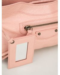 Balenciaga - Pink Mini 'hip' Shoulder Bag - Lyst