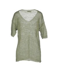 Roberto Collina - Green Jumper - Lyst