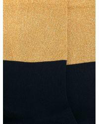 Marni | Blue Colour Block Socks | Lyst