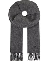 Mulberry | Gray Reversible Wool & Cashmere Scarf - For Men for Men | Lyst
