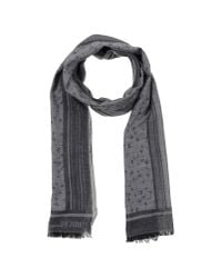 Gianfranco Ferré | Gray Oblong Scarf for Men | Lyst