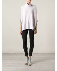 Duffy - White Turtleneck Sweater - Lyst