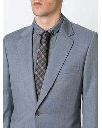 Givenchy - Brown Checked Tie for Men - Lyst