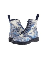 Dr. Martens - Pink Pascal 8-eye Boot - Lyst