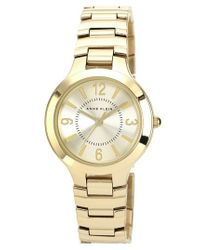 Anne Klein - Metallic Round Bracelet Watch - Lyst