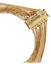 Rosantica - Metallic Blue Mini Raissa Quartz Beaded Necklace - Lyst