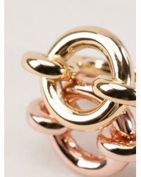 Giles & Brother - Metallic Archer Ring Set - Lyst