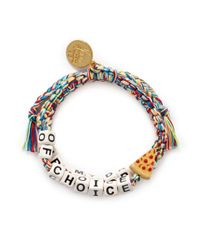 Venessa Arizaga | Multicolor 'drug Of Choice' Bracelet | Lyst