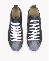 DSquared² | Blue Basquettes Sneakers for Men | Lyst