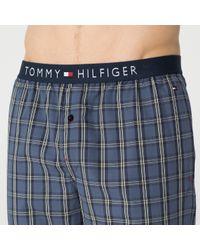 Tommy Hilfiger - Gray Cotton Jersey Pyjama Set for Men - Lyst