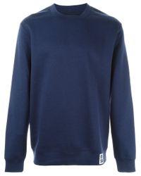 Raf Simons - Blue Cashmere Blend Sweater for Men - Lyst