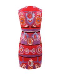 Peter Pilotto | Red Stamp Dress | Lyst