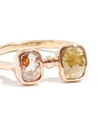 Melissa Joy Manning | Metallic Double Diamond Ring | Lyst