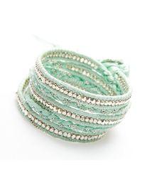 Nakamol | Multicolor Jhulier Wrap-silver/seafoam | Lyst