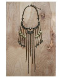 Love Leather   Multicolor Golden Twilight Necklace   Lyst