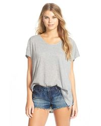 Volcom | Gray 'weekend Dream' Tunic | Lyst