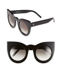Valley Eyewear - 'wolves' 52mm Sunglasses - Gloss Black - Lyst