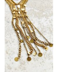 Urban Outfitters | Metallic Svetlana Dripping Gold Necklace | Lyst