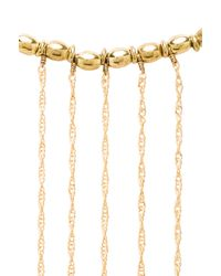 Vanessa Mooney - Le Revolution Necklace in Metallic Gold - Lyst
