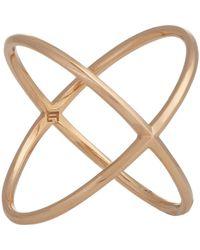 Eva Fehren | Metallic X Ring Size Os | Lyst