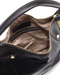 Foley + Corinna - Black Sequoia Leather Hobo Bag - Lyst