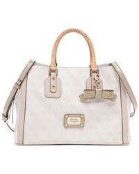 Guess - Natural Cheatin Heart Girlfriend Satchel - Lyst