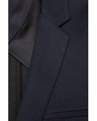 HUGO | Blue Slim Fit Jacket 'Alesono' In Cotton Blend for Men | Lyst