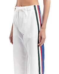 Marni - Green Womens Painted Stripe Jeans - Lyst