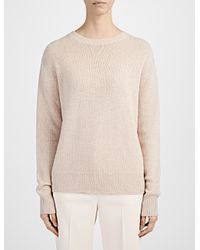 JOSEPH - Natural Spring Cashmere Sweater - Lyst