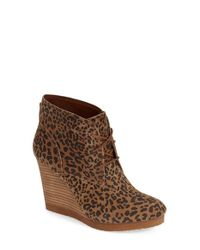 Lucky Brand - Multicolor 'taheeti' Wedge Bootie (women) - Lyst