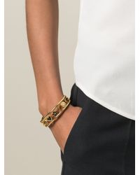 Marc By Marc Jacobs | Black Charm Bangle | Lyst