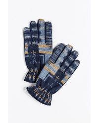 Urban Outfitters | Blue Uo Pattern Woven Glove for Men | Lyst