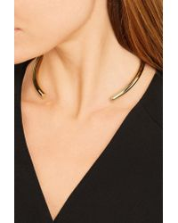 Jennifer Fisher - Metallic Stop It Right Now Gold-plated Choker - Lyst