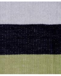 Oska | Multicolor Wool Stripe Plissee Scarf | Lyst