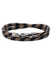 Tod's | Blue Braided Bracelet for Men | Lyst