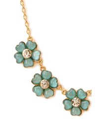 Forever 21 | Blue Spring Flowers Necklace | Lyst
