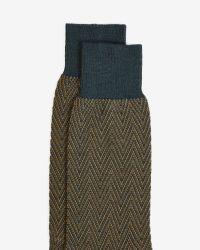 Ted Baker | Brown Sock for Men | Lyst