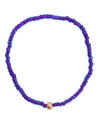 Luis Morais | Red 14kt Gold Large Star Mantra Charm Bracelet | Lyst