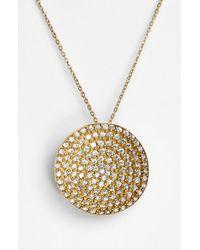 Melinda Maria | Metallic 'nicole' Pendant Necklace | Lyst