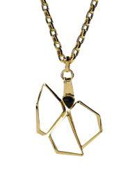 Vionnet - Metallic Necklace - Lyst