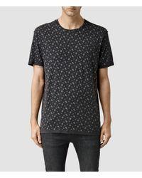 AllSaints - Black Salix Crew T-shirt for Men - Lyst