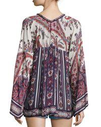 Étoile Isabel Marant - Black 'severine' T-shirt - Lyst