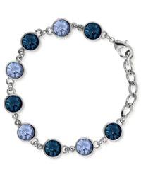 2028 | Blue Silver-tone Link Bracelet | Lyst