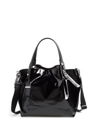 Tod's - Black 'small Flower' Satchel - Lyst