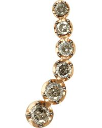 Annoushka | Multicolor Dusty Diamonds 18ct Rose-gold And Diamond Left Ear Pin | Lyst