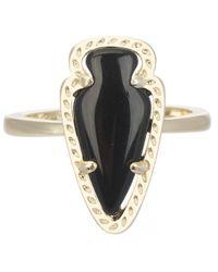 Kendra Scott | Metallic Skylen Ring Black | Lyst