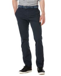 Original Penguin - Blue Relaxed Fit Chino Pants for Men - Lyst
