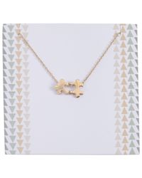 John Lewis | Metallic Long Puzzle Pieces Necklace | Lyst