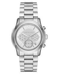 MICHAEL Michael Kors - Metallic 'cooper' Chronograph Bracelet Watch - Lyst