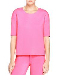 J Brand | Pink Auden Top | Lyst